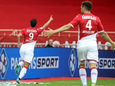Ben Yedder was the hero for Monaco with a last gasp winner. AFP