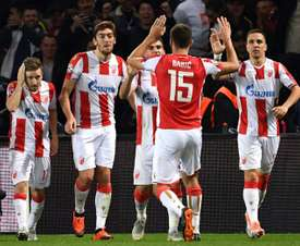The allegations come from Red Star's 6-1 loss to PSG in the Champions League. AFP
