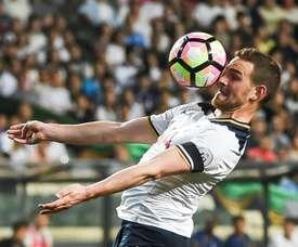 Spurs flop Janssen signs for Mexico's C.F. Monterrey. AFP