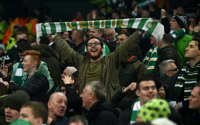 Celtic restored their 11-point advantage at the top of the Scottish Premiership. AFP