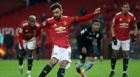 La réponse de Bruno à Klopp sur les penaltys de United. AFP