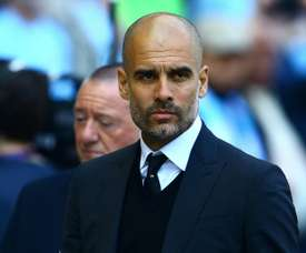 Guardiola wants to reconstruct Manchester City's squad. AFP