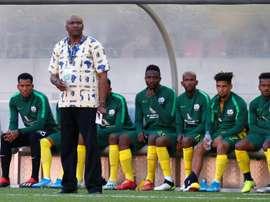 South Africa coach Molefi Ntseki has won only two of five matches. afp_en