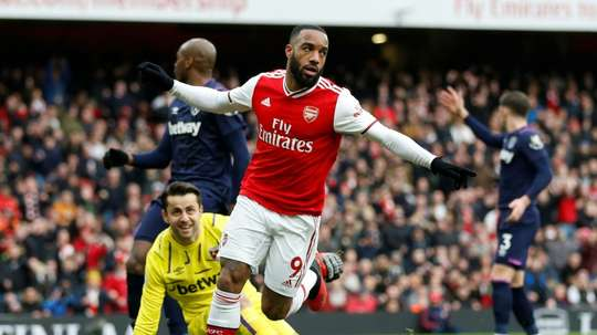 Lacazette will apparently replace Lautaro at Inter. AFP