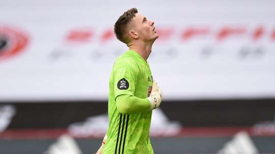 Dean Henderson is looking for game time. AFP
