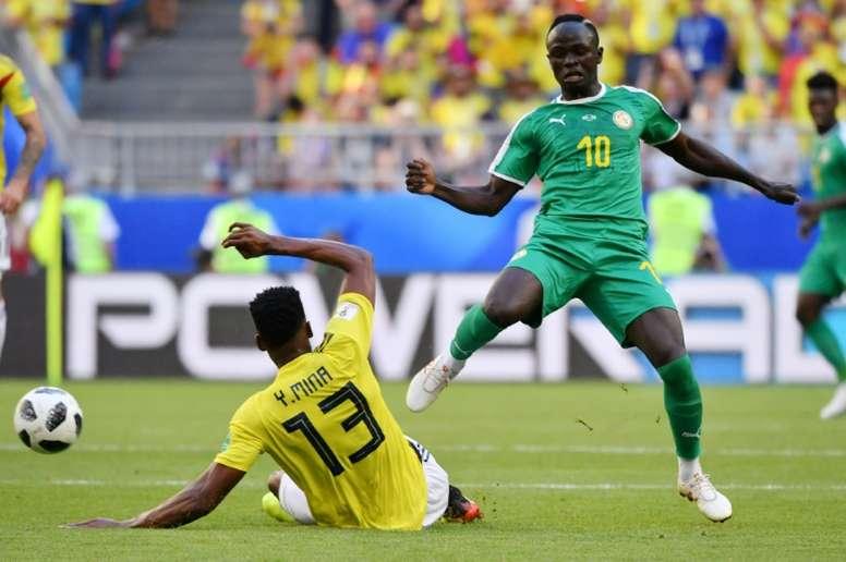 Sadio Mané et les siens partent favoris de la compétition. AFP