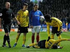 Torreira's injury puts Arsenal on the spot. AFP