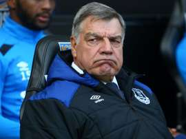 Allardyce's grandson made an appearance against his old team Everton. AFP