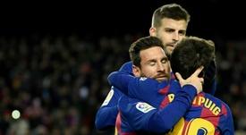 El Barça lo tiene claro: solo llegará un fichaje. AFP