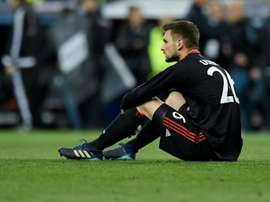 Ulreich made a fatal error to allow Karim Benzema to score his second. AFP