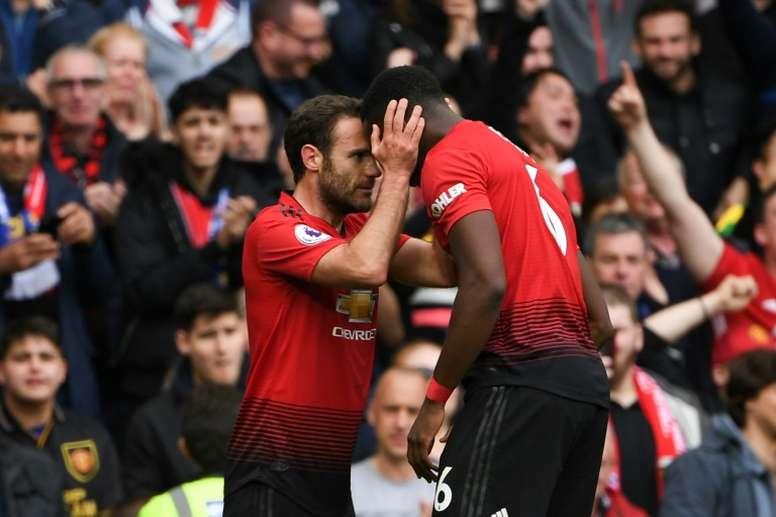 El fútbol se vuelca contra el racismo. AFP