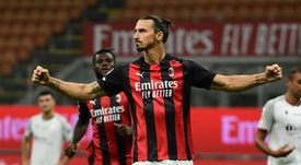 Ibrahimovic will be looking to help beat AC Milan in the derby versus Inter on Saturday. AFP