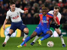 United want Zaha. AFP