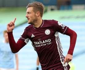 Leicester won 5-2. AFP