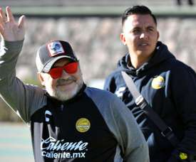 Maradona's Dorados held in first leg of Mexican division final.