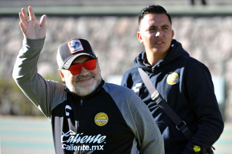 Maradona's Dorados held in first leg of Mexican division final.