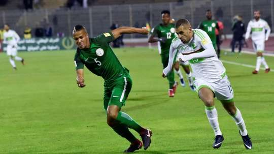Algeria and Nigeria played out a 1-1 draw in the Group B WC qualifying match. AFP