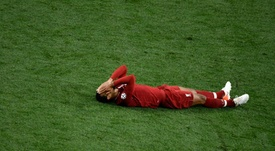 Por que Van Dijk não enfrentou o Monterrey? AFP