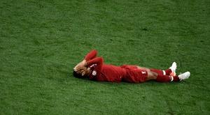 Virgil van Dijk's injury is worse than initially feared. AFP