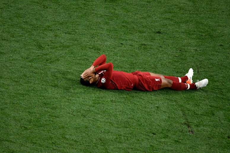 Virgil van Dijk's injury is worse than initially feared. AFP