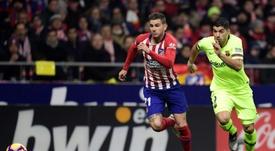 El Bayern sigue con Lucas entre ceja y ceja. AFP