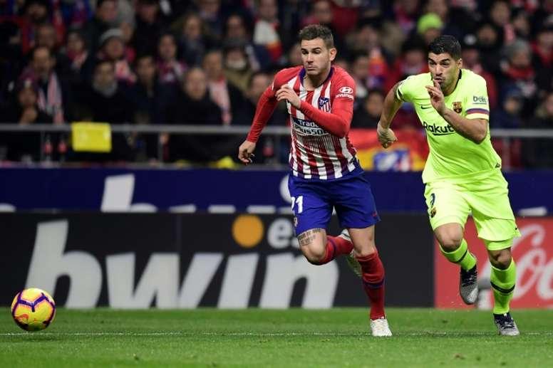 L'Atlético n'est pas fermé à la négociation. AFP