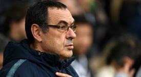 L'AS Roma prête à embaucher Maurizio Sarri l'été prochain. AFP