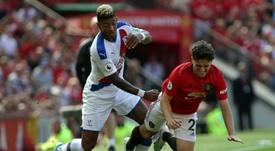 El Manchester United volvió a tropezar en la Premier League. AFP