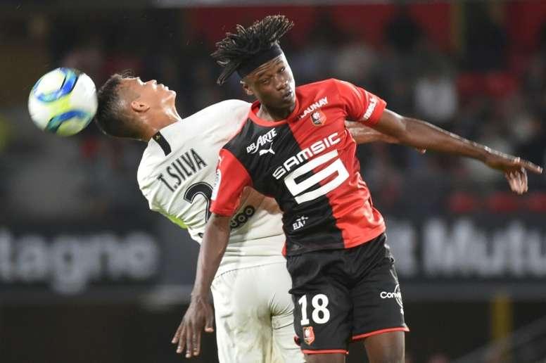 Camavinga looks some player for the future. AFP