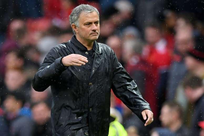 Mourinho no se calló. AFP