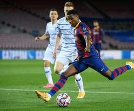 Will Barca renew Fati? AFP