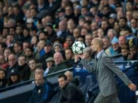 Josep Guardiola a une liste de joueurs dont il ne veut pas l'an prochain. AFP