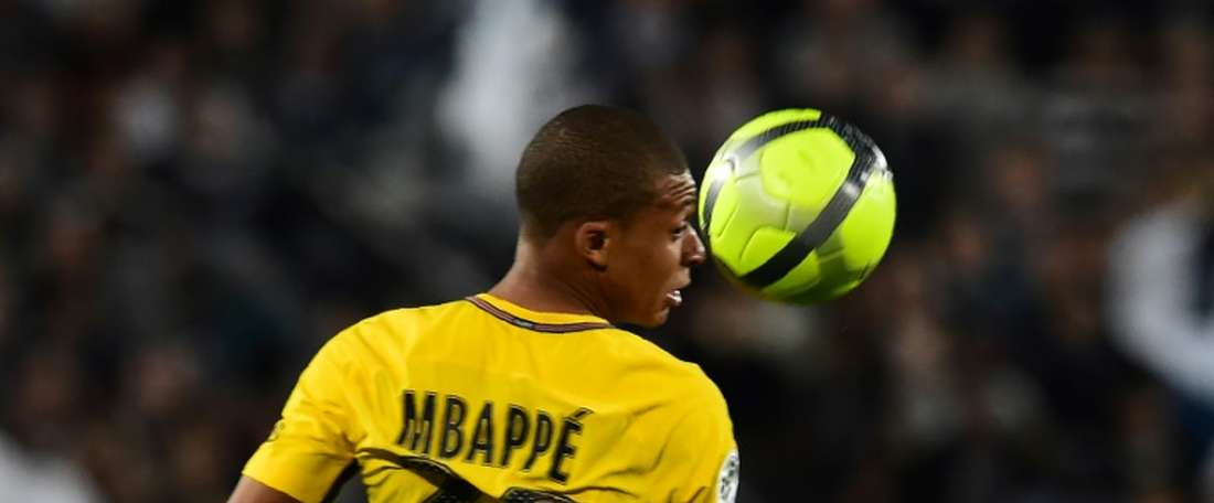 Mbappe will face off against a former acquaintance. AFP