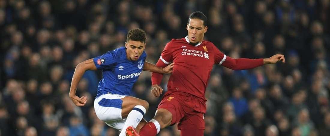 Holgate pourrait rester à Everton. AFP