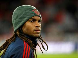 Sanches is frustrated by his lack of opportunities at Bayern. AFP