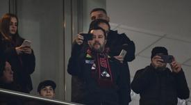 Salvini, fan del Milan. AFP