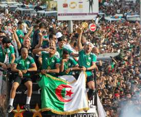 Algeria are in Group A for African World Cup qualifying. AFP