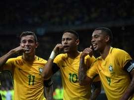 Neymar et Coutinho sont les principaux protagonistes de ce mercato. AFP
