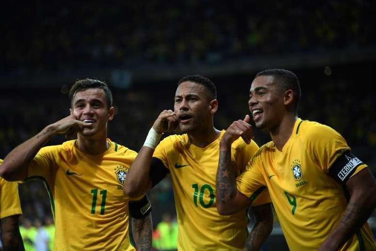 Le Brésil est favorite du groupe E. AFP