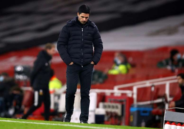 Arteta says sack is risk you take being a manager. AFP