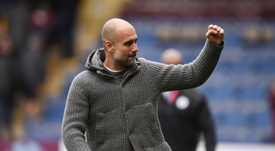 Pep Guardiola no se fía de la visita al Burnley. AFP