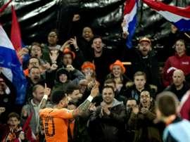 Depay fires Dutch past Belarus in Euro 2020 qualifying opener. AFP