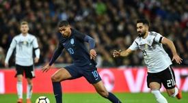 Inglaterra y Alemania empataron a cero. AFP