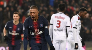 PSG claim record home win with 9-0 thrashing of Guingamp.