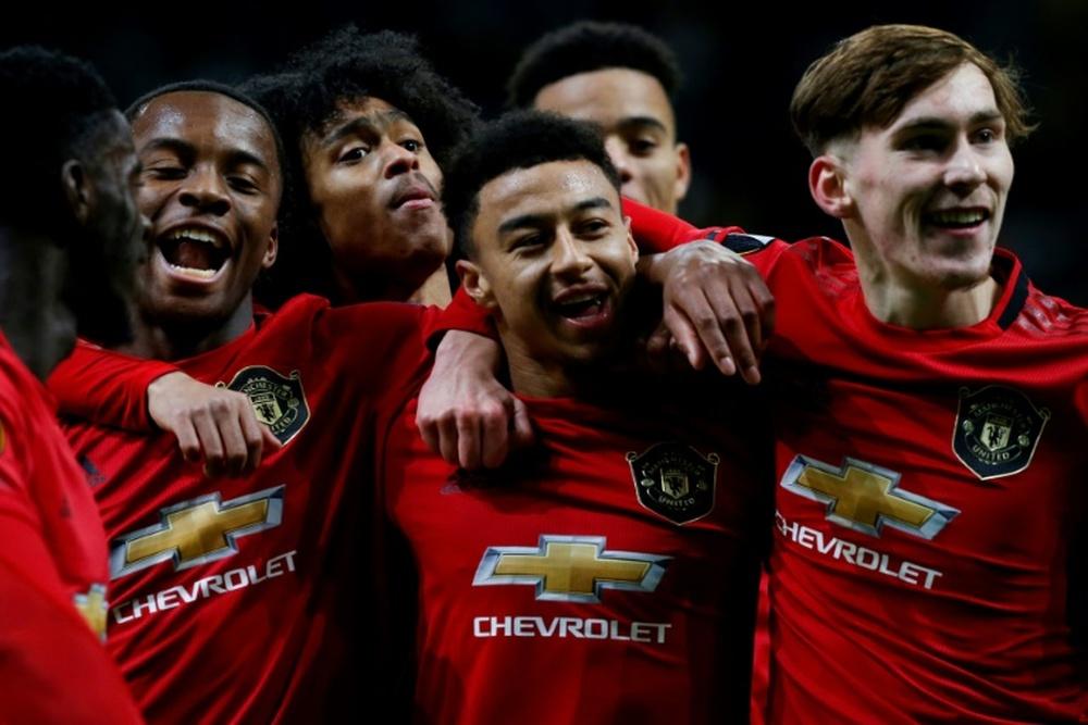 Lingard rechazó una oferta de renovación del Manchester United. AFP