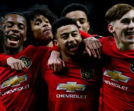 West Ham veut faire ses courses à Manchester United. AFP