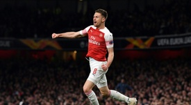 El Arsenal deberá defender un 2-0 en San Paolo. AFP