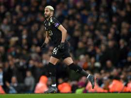 El Leicester se ha fijado en Elyounoussi. AFP