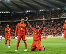 Bélgica ganó sin problemas a Kazajistán. AFP