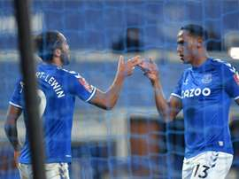 Everton striker Dominic Calvert-Lewin has scored 15 goals this season. AFP